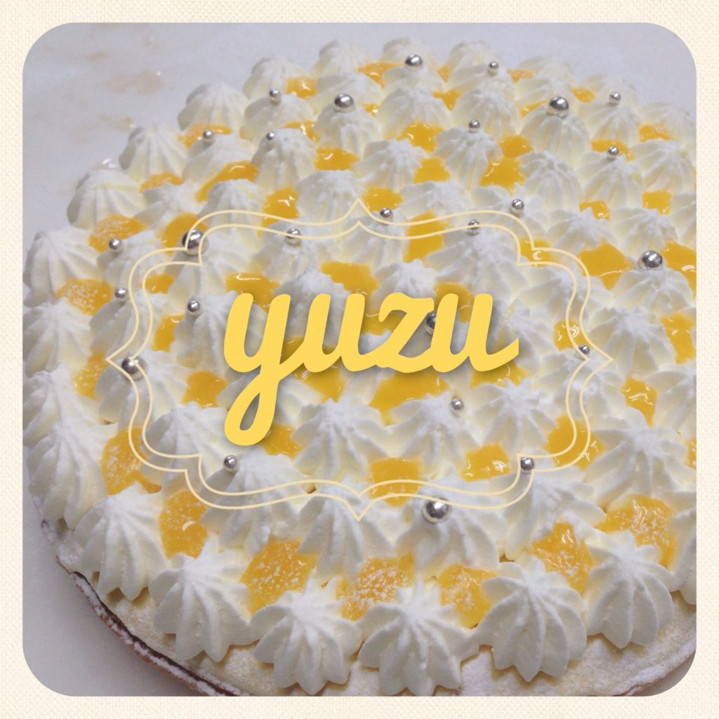 yuzuケーキ